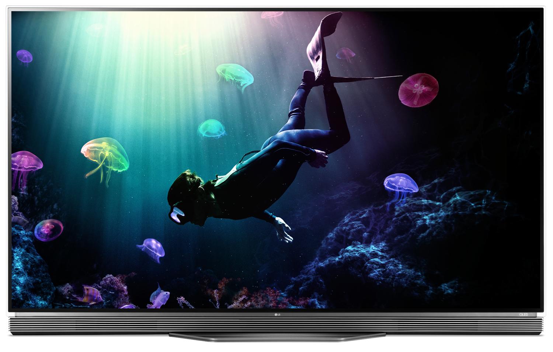 "LG 65"" Black UHD 4K OLED 3D Smart HDTV With WebOS 3.0"