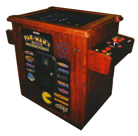 NAMCO Pac-Man Arcade Home Cocktail Table - PACMANARCADECOCKTAILTABLE