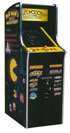 NAMCO Pac Man Arcade Party Home Cabaret - PACMANPARTYHOMECABARET