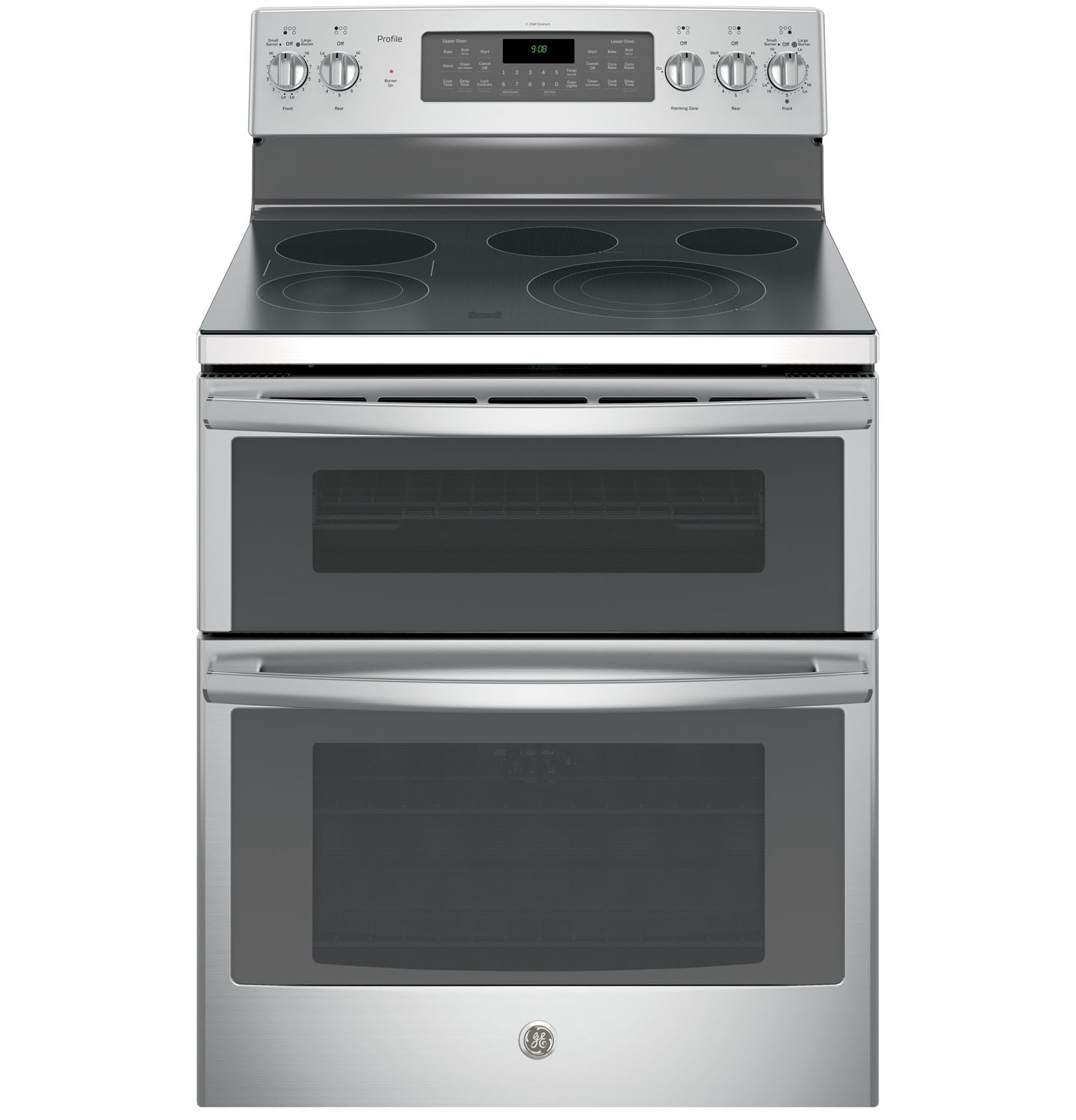 GE Profile 30 Stainless Steel Freestanding Electric Double Oven