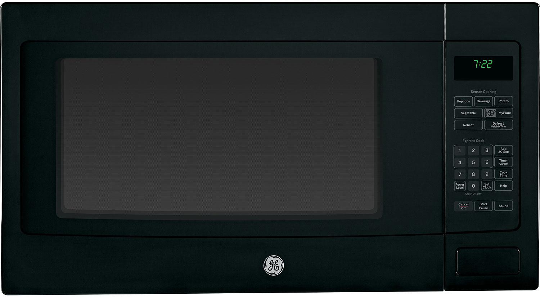 GE 2.2' Capacity Countertop Microwave Black
