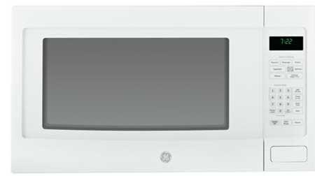 GE Profile PEB7226DF Countertop Microwave Oven (White) (Metal)