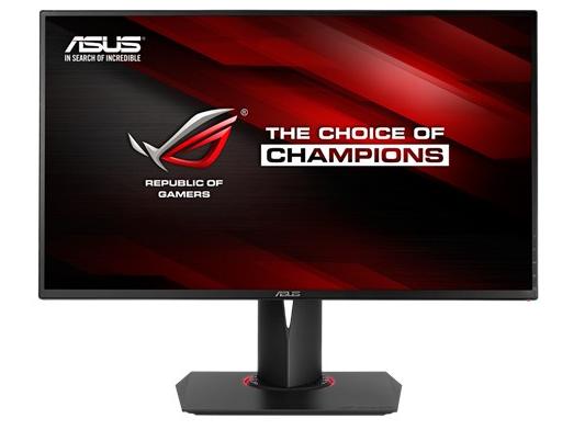 """Asus 27"""" Black LCD WQHD ROG Swift Gaming Computer Monitor"""
