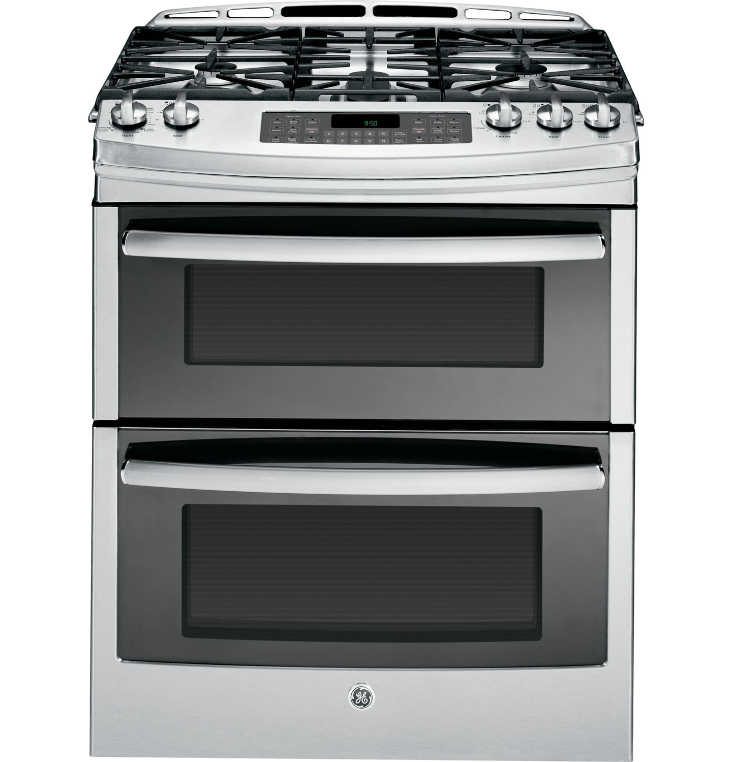 GE Profile 30 Slide-In Gas Range - Stainless Steel