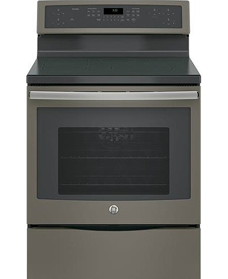 GE Profile 30 Slate Freestanding Induction Range