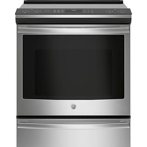 GE Profile 30 Stainless Steel Slide-In Induction Convection Range