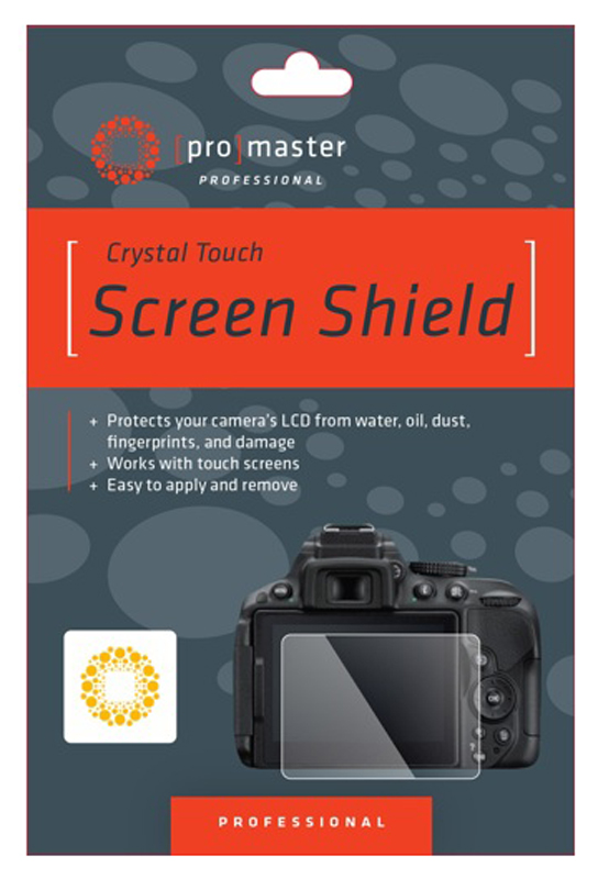 Promaster Crystal Touch Screen Shield For Nikon D7100/7200