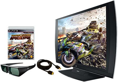Sony PlayStation 3D HD Display Bundle - 98078