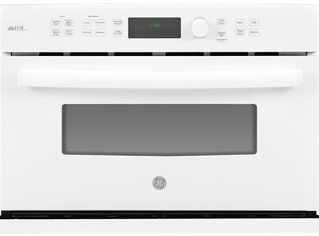 """GE 27"""" Profile Advantium White Wall Oven"""