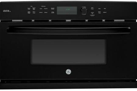 """GE 30"""" Profile Advantium Black Wall Oven"""