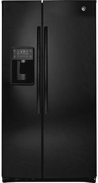 GE Profile Black Side-By-Side Refrigerator