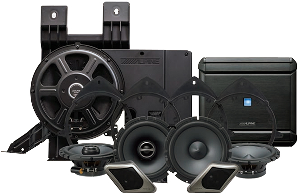 Alpine Direct Fit Restyle System For Select GM Trucks And...