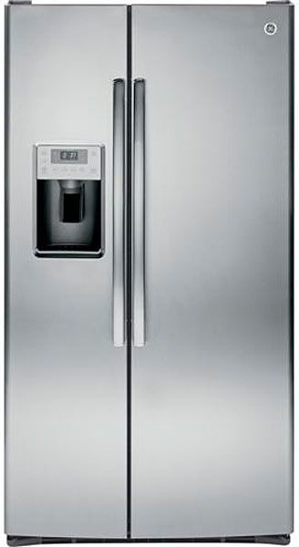 GE Profile Side By Side Stainless Steel Refrigerator