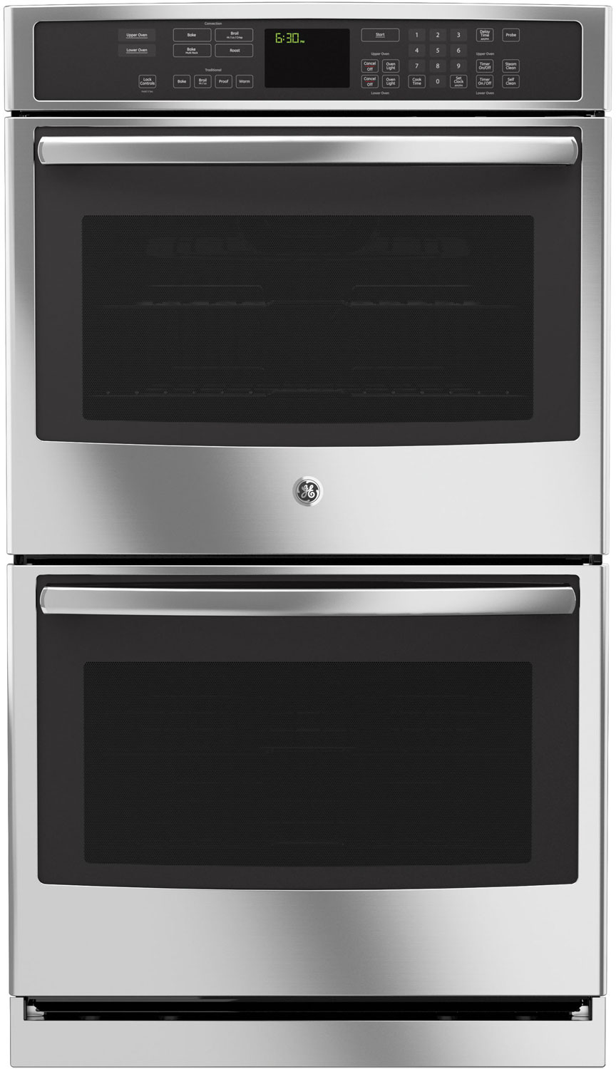 GE Profile 30 Stainless Steel Built-In Double Wall Oven