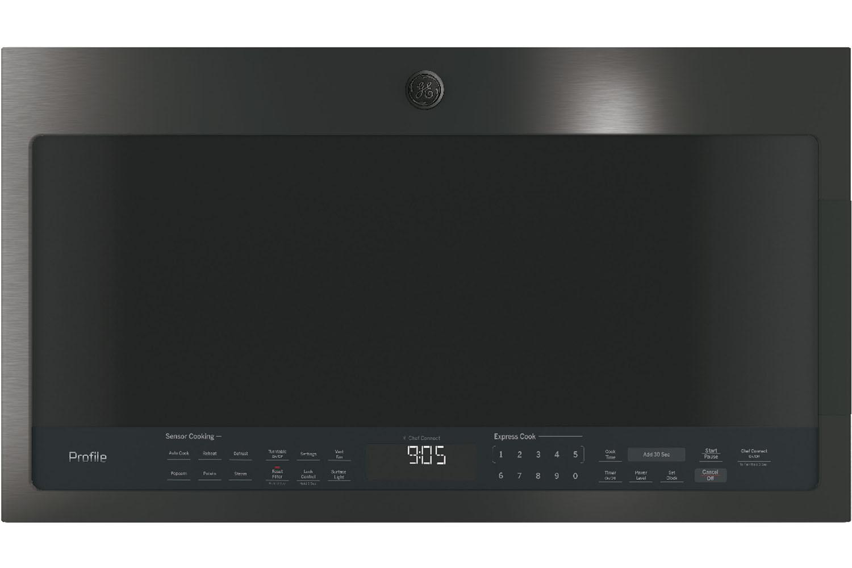 Ge Profile Black Stainless Steel Microwave Pvm9005blts