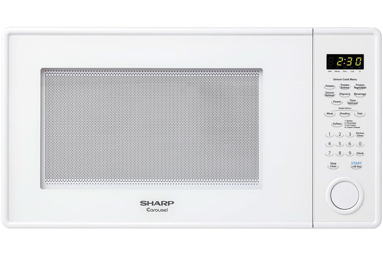 Sharp Carousel Cu Ft Watt Countertop Microwave Oven - Abt microwaves