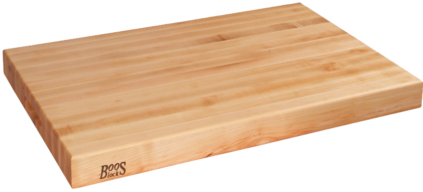 John boos co reversible maple cutting board ra