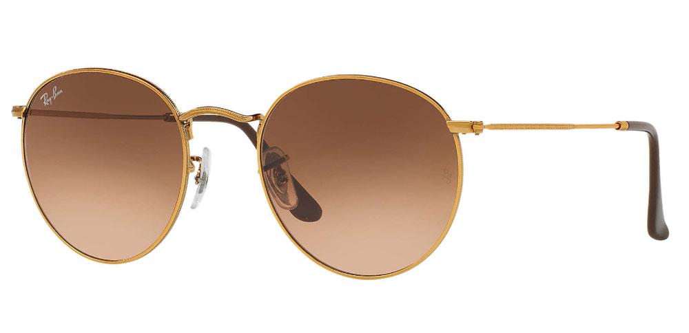 5e0c447a9cfc1 Ray-Ban Round Metal Bronze-Copper 50mm Sunglasses - RB3447 9001A5 50