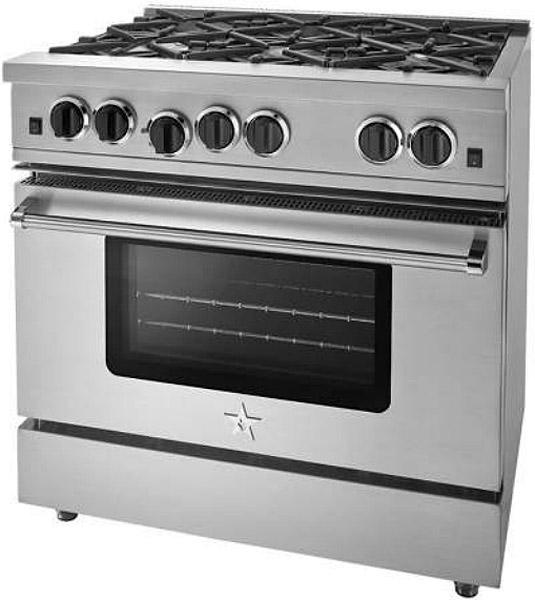 """BlueStar 36"""" Sealed Burner Series Stainless Steel Gas Range"""