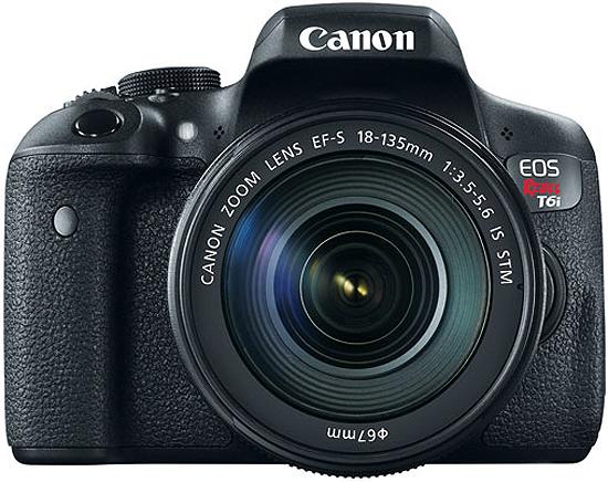 Canon EOS Rebel T6i EF-S 18-135mm IS STM Lens Kit