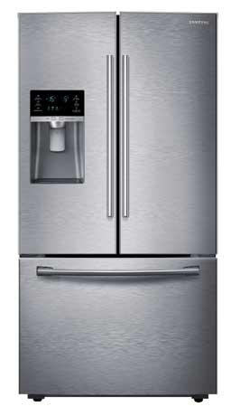 Samsung Stainless French Door Refrigerator Rf28hfedbsraa