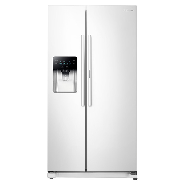 Samsung White Side-By-Side Refrigerator