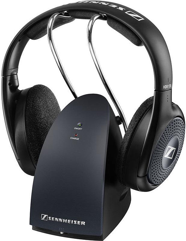 Sennheiser Black On-Ear Wireless Stereo Headphones