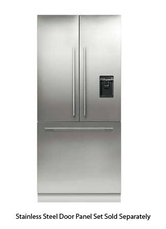Fisher & Paykel Built-In Stainless Steel French Door Refr...
