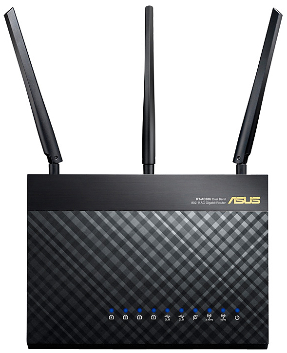 Asus Black Dual-Band Wireless Gigabit Router