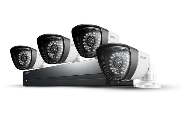 Samsung 4 Camera 4 Channel 960H DVR Security System