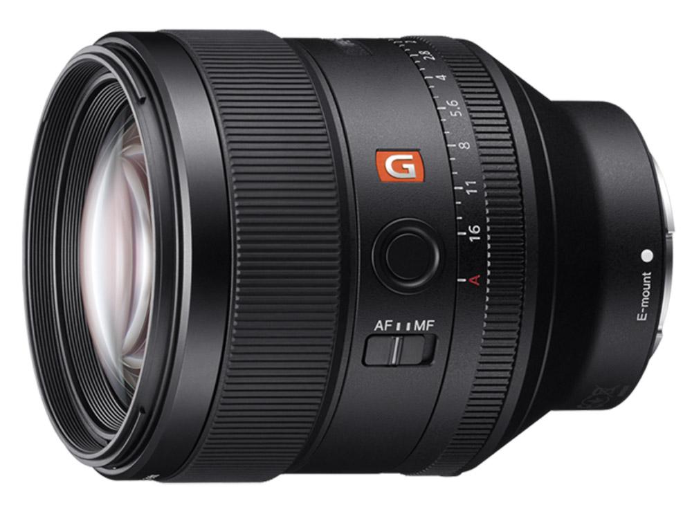 Sony Black FE 85mm F1.4 GM Lens SEL85F14GM