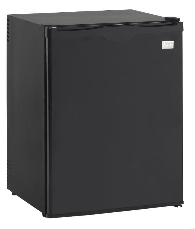 Avanti Superconductor Black Compact Refrigerator