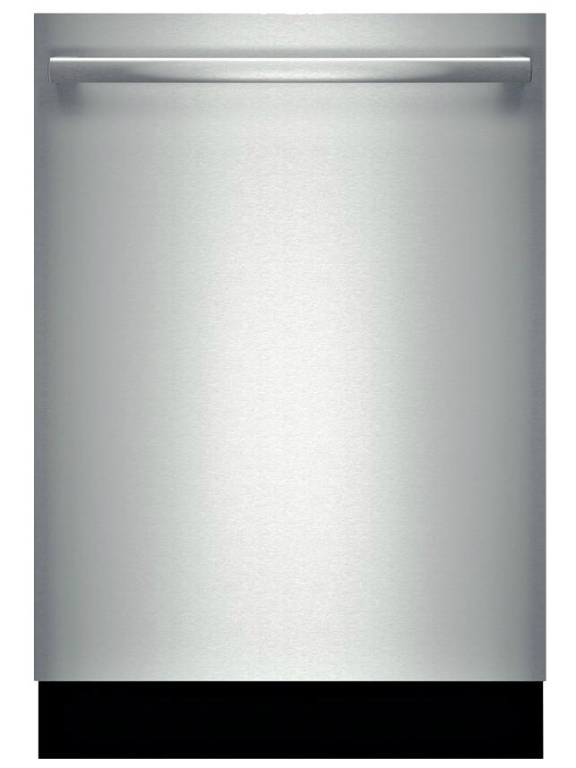 "Bosch 800 Series 24"" Bar Handle Stainless Steel Built-In ..."