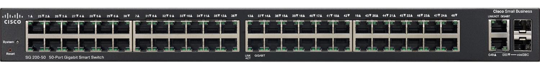 Cisco Systems 50-Port SG200-50 Gigabit Smart Switch