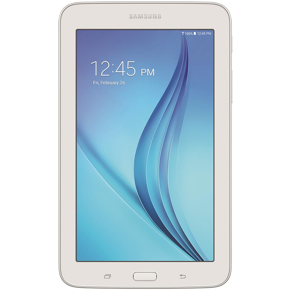 """Samsung Galaxy Tab E Lite 7.0"""" 8GB White Tablet"""