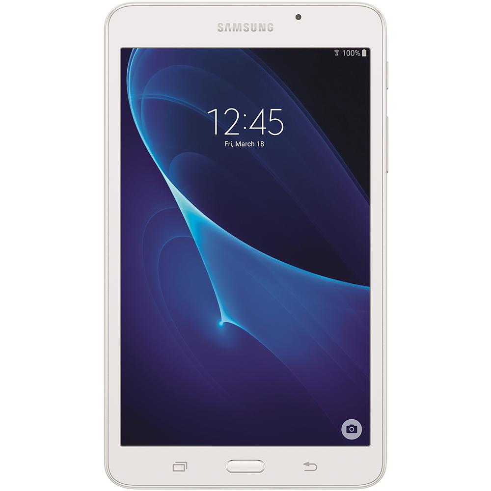 "Samsung Galaxy Tab A 7.0"" 8GB White Tablet"