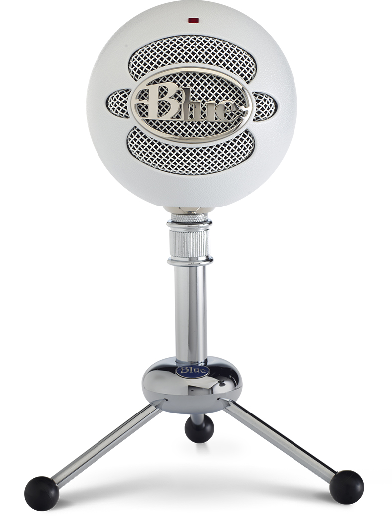 Blue Microphones Snowball White Usb Microphone Snowball