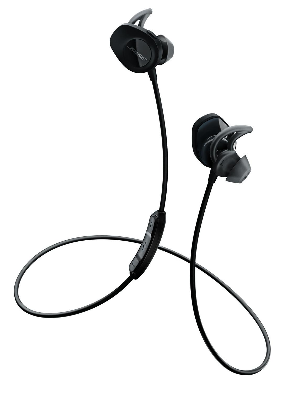 Bose Black SoundSport Wireless In-Ear Headphones