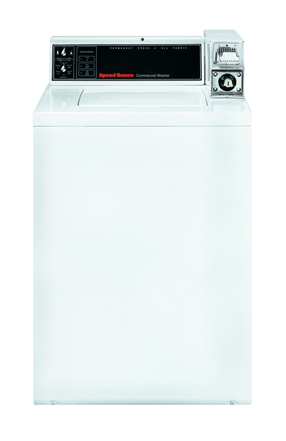 SPEED QUEEN White Commercial Top Load Washer