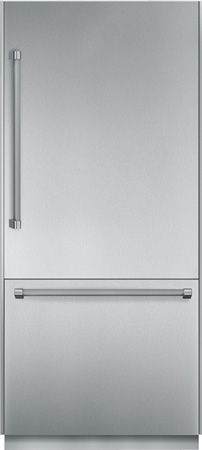 "Thermador 36"" Stainless Steel Built-In Bottom Freezer Ref..."