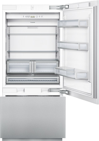 "Thermador 36"" Panel Ready Built-In Bottom-Freezer Refrige..."