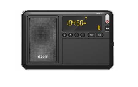 Eton Traveler III Black AM/FM/LW And Shortwave Portable R...