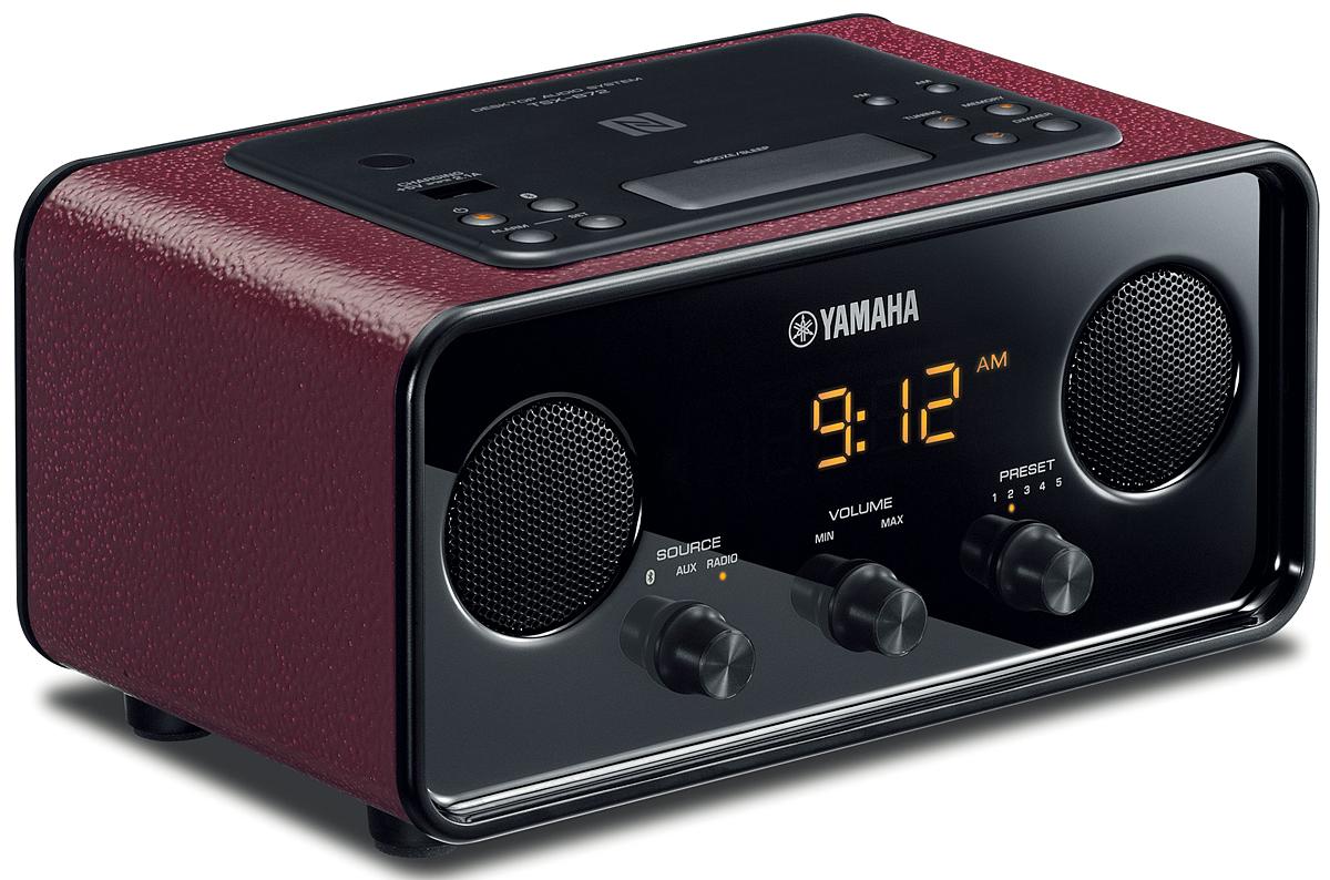 Yamaha Dark Red Desktop Audio System