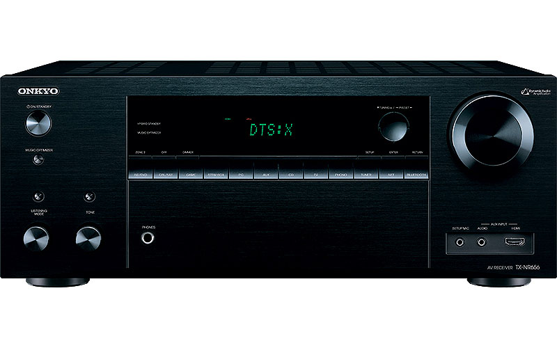 Onkyo TX-NR656 Dolby Atmos home theater receiver