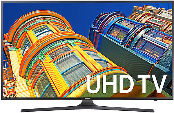 "Samsung 40"" Black LED UHD 4K Smart HDTV"