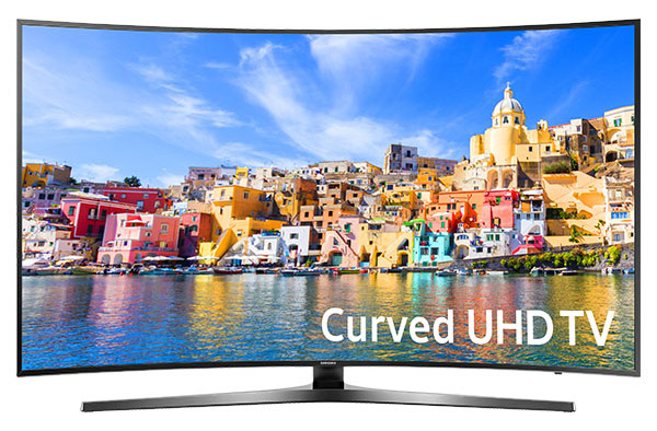 Samsung 49 Inch Curved 4K Ultra HD Smart TV UN49KU7500F UHD TV - UN49KU7500FXZA