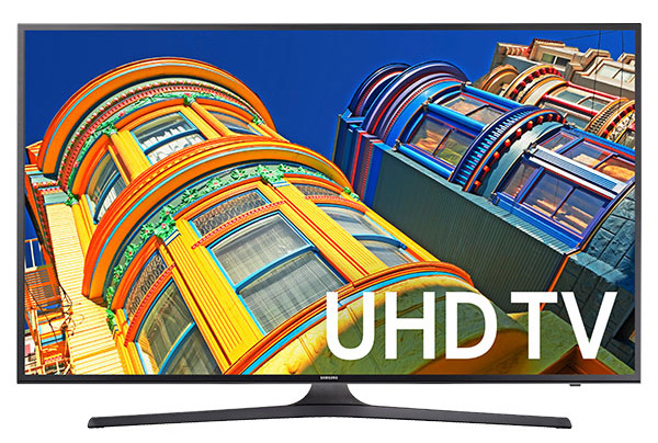Samsung UN60KU6300 4K Smart LED TV