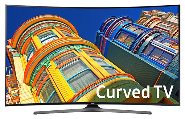 "Samsung 49"" Black LED UHD 4K Curved Smart HDTV"