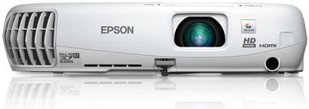Epson PowerLite Home Cinema 750HD 720p 3LCD Projector