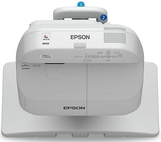 Epson BrightLink Pro 1430Wi 3LCD 3300-Lumen WXGA Interactive Projector